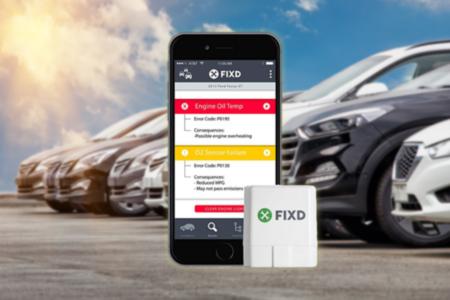FIXD Car Monitor