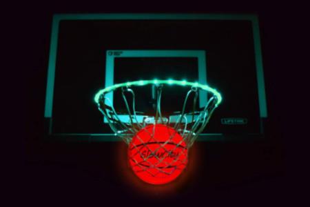 LED Basketball Rim + Ball