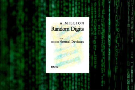 Book: A Million Random Digits with 100,000 Normal Deviates
