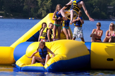 Inflatable Water Launch Pad