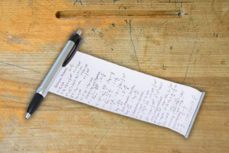 Hidden Note Pen