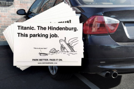 Insulting Parking Tickets