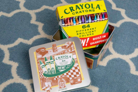 Crayola 60th Anniversary 64 Count Crayon Set
