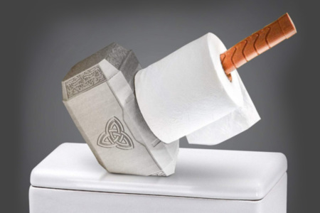 Mjölnir Toilet Paper Holder