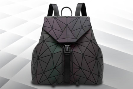 Light Reflecting Holographic Backpack