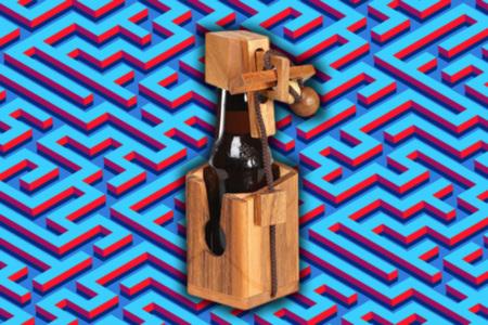 Beer Bottle Puzzle Lock