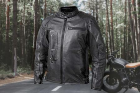 Leather Airbag Bike Jacket