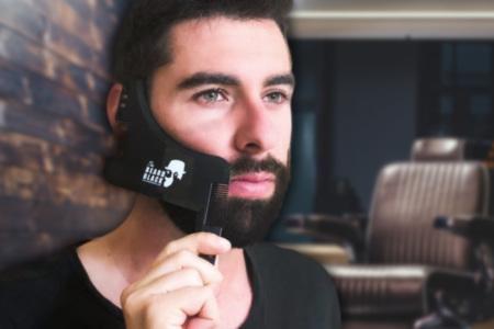 Beard Stencil Tool